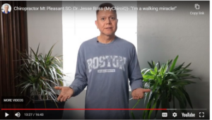 """Patient Success- """"I'm A Walking Miracle!"""""""